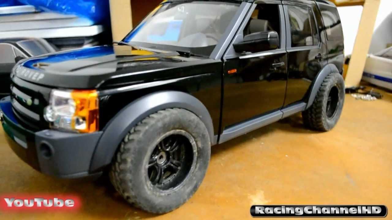 Land Rover Lr3 Rc4wd Tamiya Crawler Body Perfect Scale