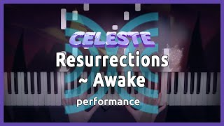 """COLLAB. Materia Collective: """"Resurrections~Awake"""" from Celeste 