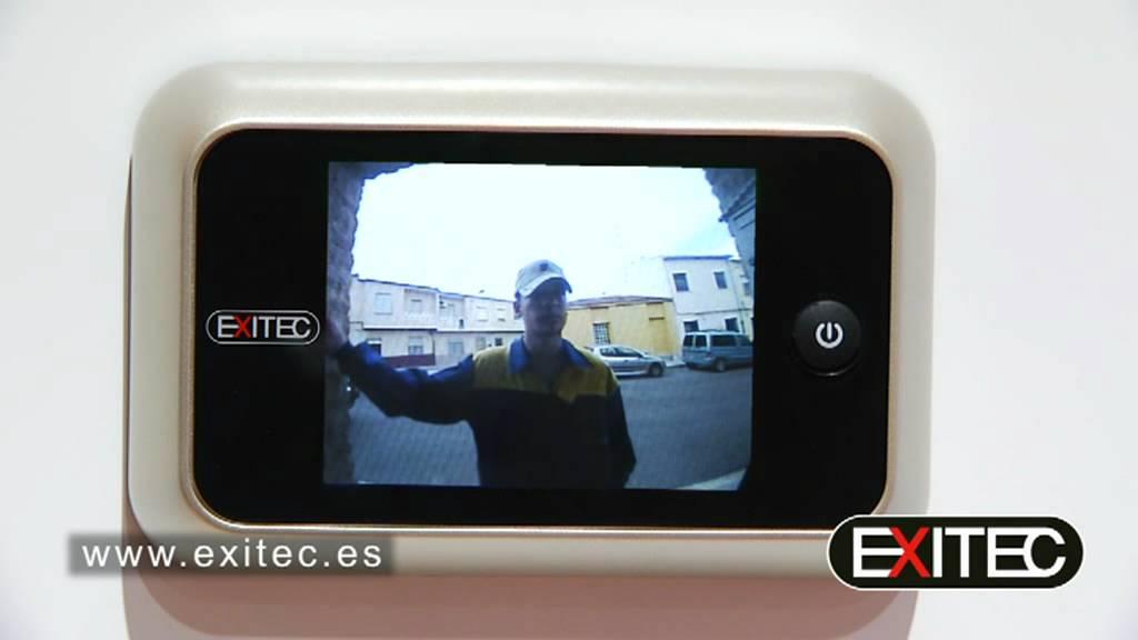 Mirilla electr nica para puerta ayr youtube - Mirillas digitales para puertas ...