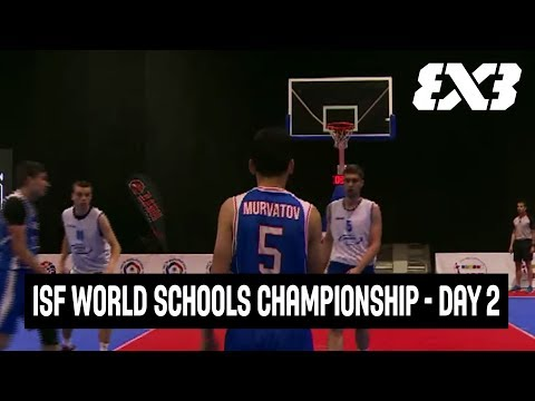 LIVE 🔴 - World Schools Championship 3x3 Basketball 2018 - Day 2 - Belgrade, Serbia