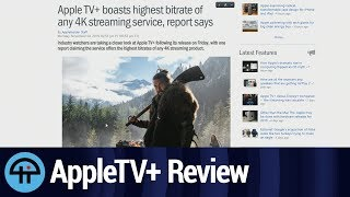 AppleTV+ Review: Best Streaming Service Out There