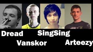 """Dota 2 FPL - Dread, SingSing, Vanskor, Arteezy, Neqroman - Dream Team """"zaebal"""""""
