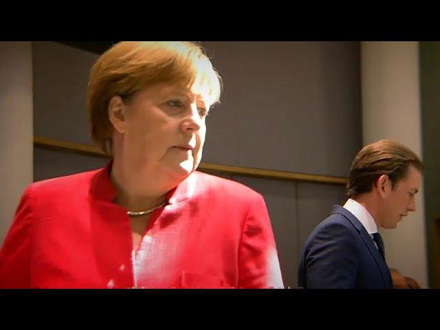 Merkel coalition under threat