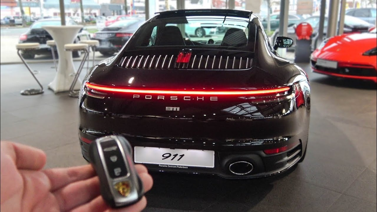 Here is the Brand New - PORSCHE 992 CARRERA 4s - Details, Sound & More!