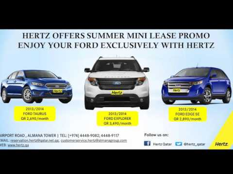Hertz Qatar Mini Lease Promo