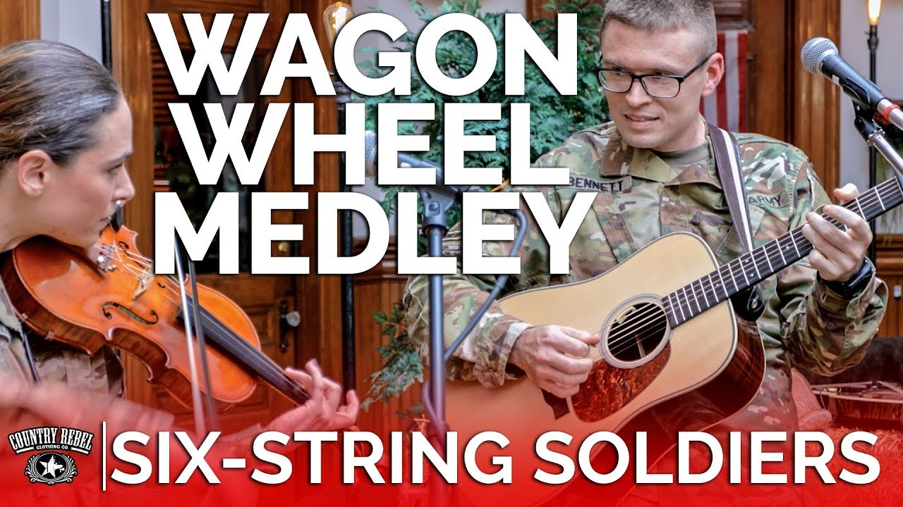 Six-String Soldiers — Wagon Wheel Medley (Acoustic Cover) // Country Rebel HQ Session