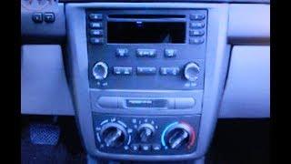 Chevrolet Cobalt CD Removal CarStereoHelp.com