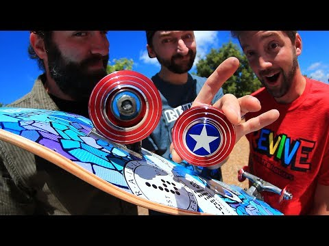 CAPTAIN AMERICA FIDGET SPINNER WHEELS!
