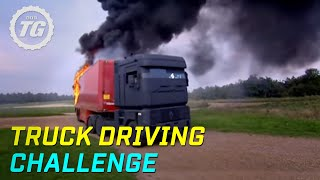 Download Truck Driving Challenge Part 1: Rig Stig & Power Slide - Top Gear - BBC Mp3 and Videos