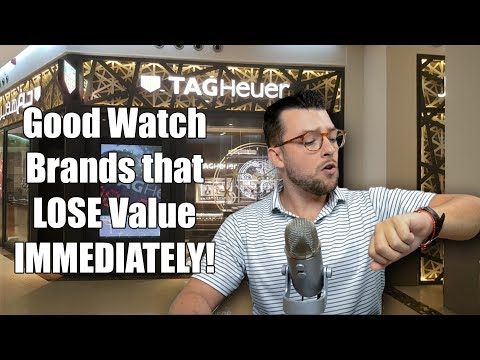 ⌚ 5 GREAT Watch Brands That LOSE Value IMMEDIATELY