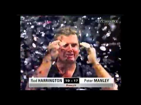 Rod Harrington 136 Checkout to win the 1999 PDC World Matchplay