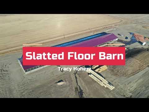 Slatted Floor Barn