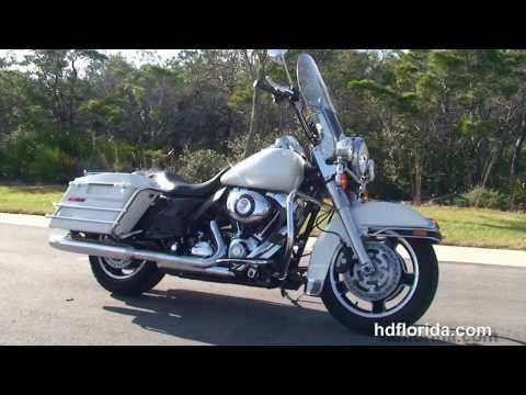 Used 2013 Harley Davidson Road King Police Motorcycles for sale - Destin, FL