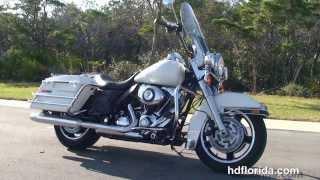 Used 2013 Harley Davidson Road King Police Motorcycles for sale - Destin, FL