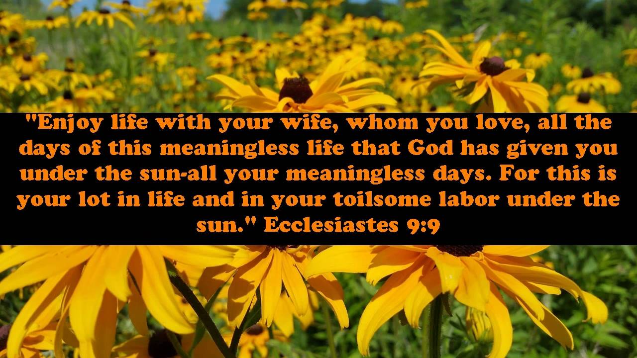 Bible Quotes On Love And Marriage Bible Verses About Marriage And Love  Youtube