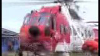 Lough Neagh Rescue Irish Coastguard helicopter exercise (part 1 of 2)