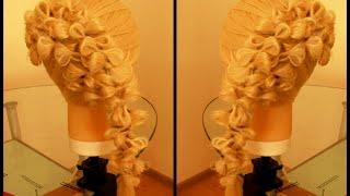 Причёска с бантиками. Видео-урок.(Красивая причёска. Причёска с бантиками. Причёски. Косы. Видео-уроки. Идеи. Каналhttps://www.youtube.com/channel/UCDZzyw0sk9Fb1mYJs..., 2015-07-06T18:19:46.000Z)