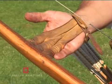 How to shoot a medieval Longbow - English Heritage