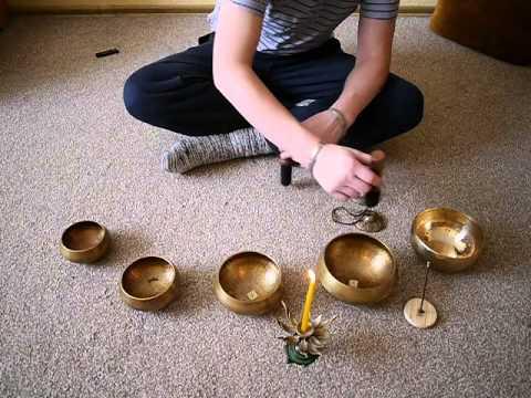 Тибетские поющие чаши свадхистана