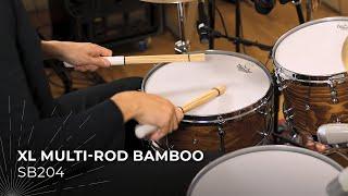 MEINL Stick & Brush XL Multi-Rod Bamboo SB204