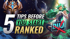 EVERYTHING You MUST Know BEFORE Starting Ranked in Season 10 - League of Legends