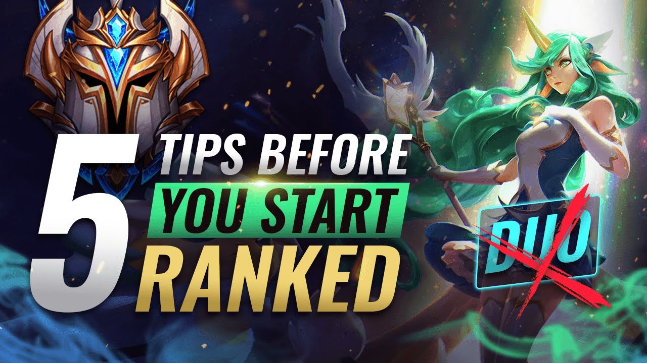 EVERYTHING You MUST Know BEFORE Starting Ranked in Season 10 - League of Legends thumbnail