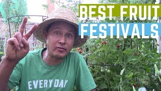 Two Best Fruit Festivals for Summer 2019 in North America