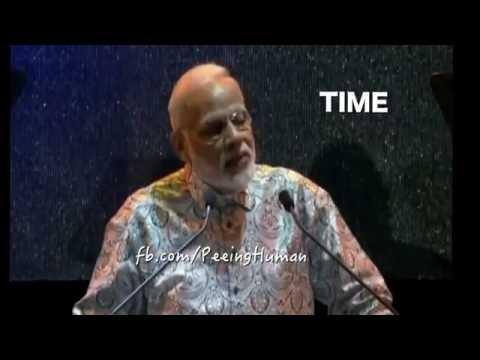 MODI STYLE!!!!!!! THUG LIFE Love is a waste of time PK ft  Narendra Modi