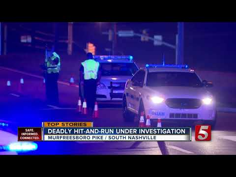 Police Search For Driver In Deadly Hit-and-run In Nashville
