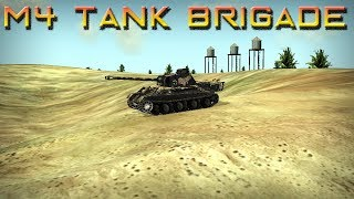 M4 Tank Brigade Gameplay PC ( 1080p 60fps )