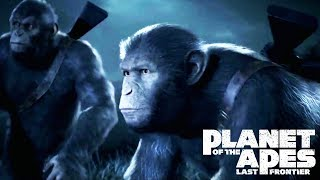 PLANET OF THE APES: LAST FRONTIER All Cutscenes (PS4 PRO) Game Movie 1080p HD