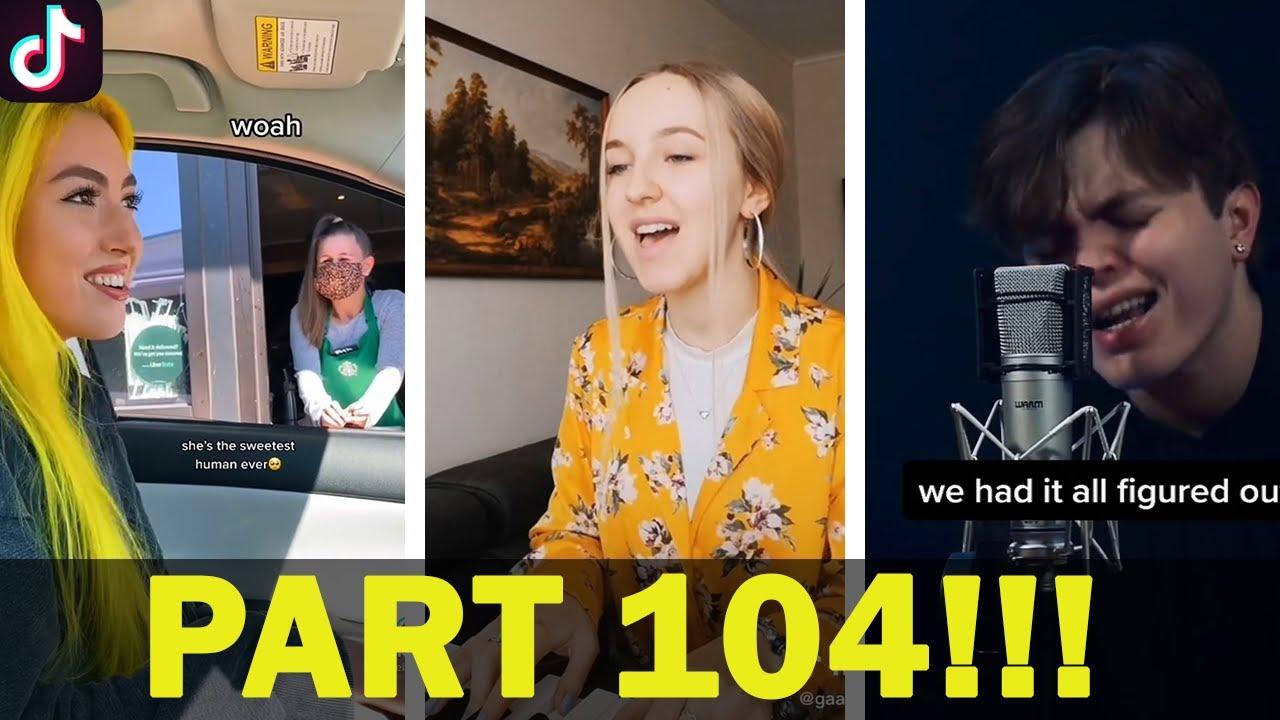 Tik Tok SINGING Compilation V104 | BETTER THAN REAL ARTISTS ? 2021🎤😮😮😯 | tik tok Memes