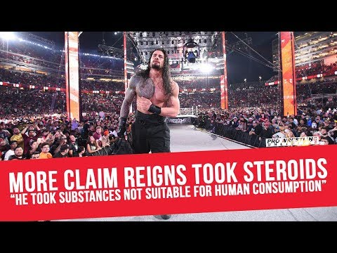 "More Claim Roman Reigns Took Steroids, ""He Took Substances Not Suitable For Human Consumption"""