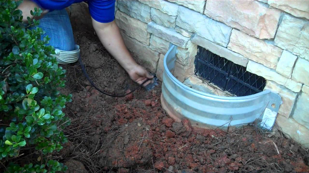 Clarolux Training - Running Wires Under a Crawl Space - YouTube