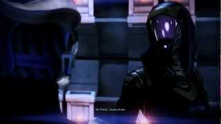 Mass Effect 3 Tali vs Liara (geth dreadnought)