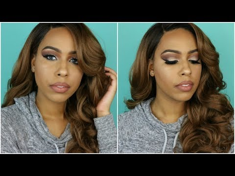 $27 - Instant GLAM Wig! - Outre Lace Wig Emmy - Show N Tell - TheHeartsandcake90