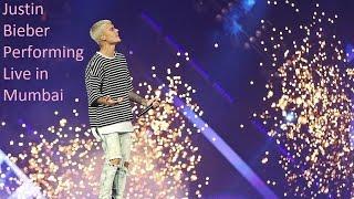 Justin Bieber Performing in Mumbai
