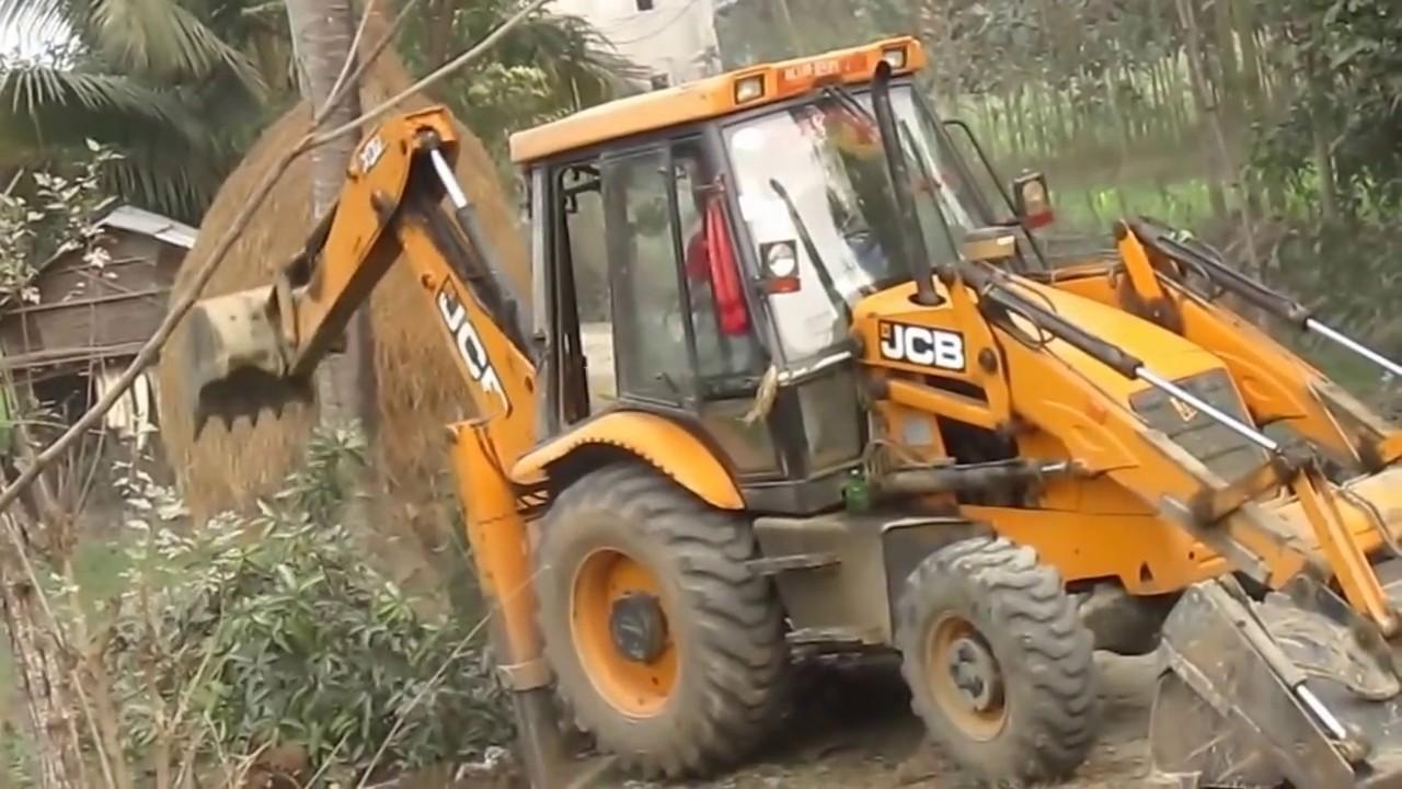 jcv cuting break tree  jcv working road constraction