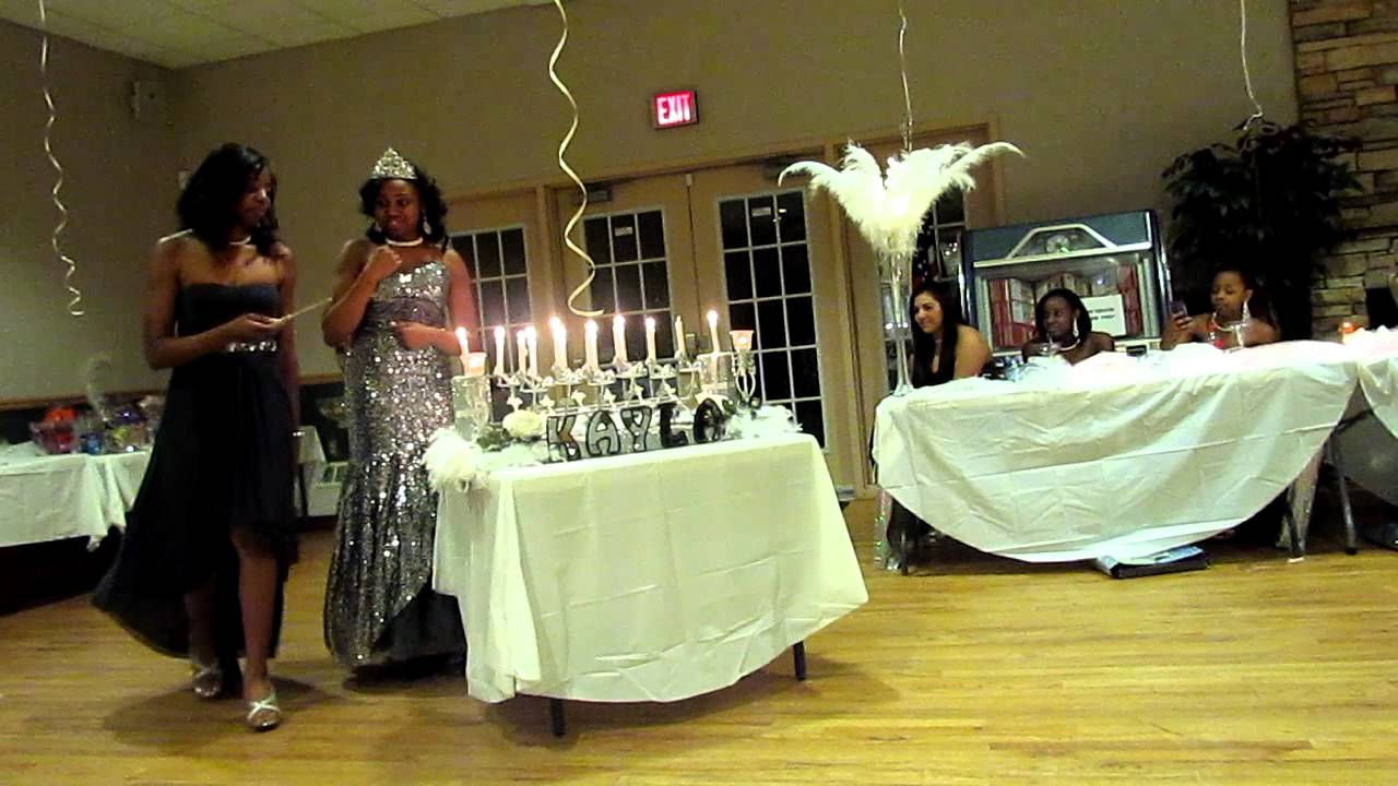 kayla's sweet 16 candle ceremony part 7-16 - YouTube