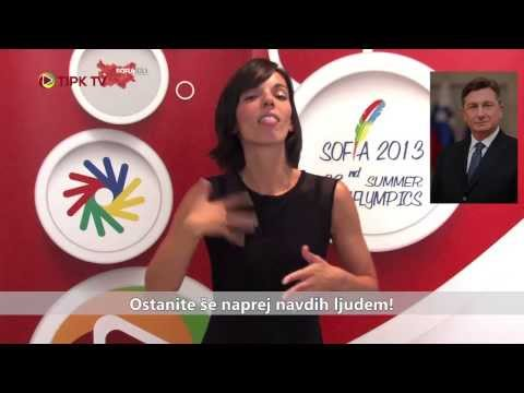 Pismo Boruta Pahorja - gluhim olimpijcem