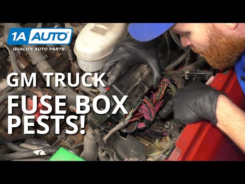 How to Diagnose a Common Problem in GM Truck Fuse Boxes