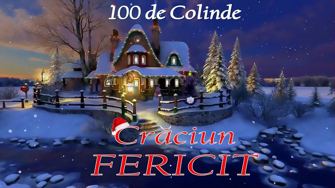 100 DE COLINDE PENTRU SEARA DE CRACIUN (COLAJ NOU)