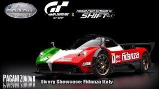 GT Sport - Livery Showcase: Fidanza Italy (NFS Shift) | Pagani Zonda R