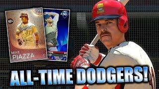 ALL-TIME DODGERS TEAM BUILD! MLB THE SHOW 18 DIAMOND DYNASTY