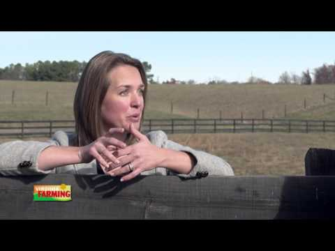 "Virginia Farming: Lauren Arbogast, Winner of the ""Faces of Agriculture"" competition"