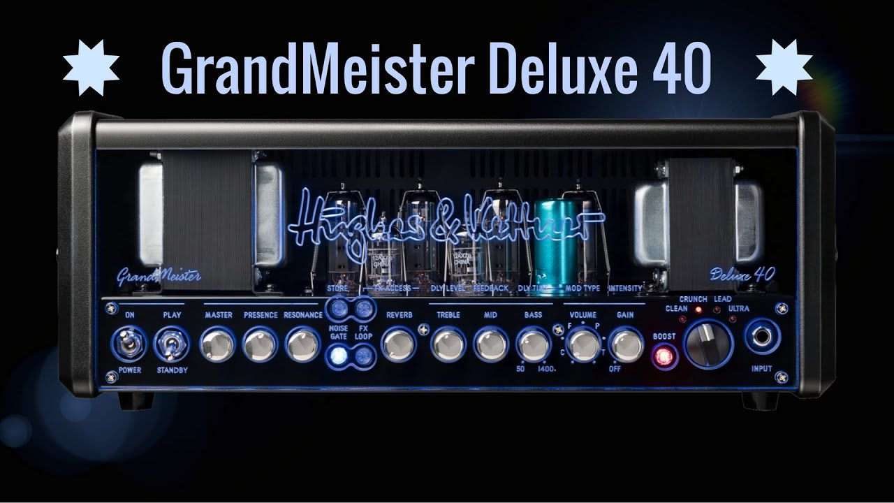 Hughes Kettner Le Nouvel Ampli A Lampes Grandmeister Deluxe 40