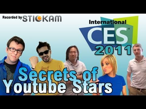 Money Makers - Secrets of Youtube Stars at CES 2011