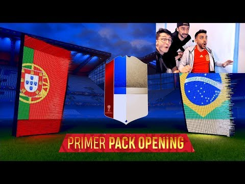 PRIMER PACK OPENING DEL MUNDIAL !!! FIFA WORLD CUP