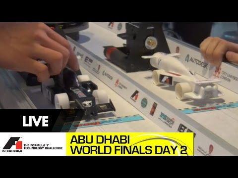 F1 in Schools World Finals Abu Dhabi 2014 Day 2 - Reaction Racing