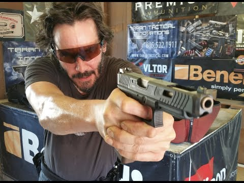 Mikey - Check it Out! Keanu Reeves Really CAN Shoot!